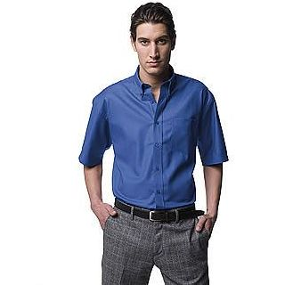 Oxford hemd met korte mouwen