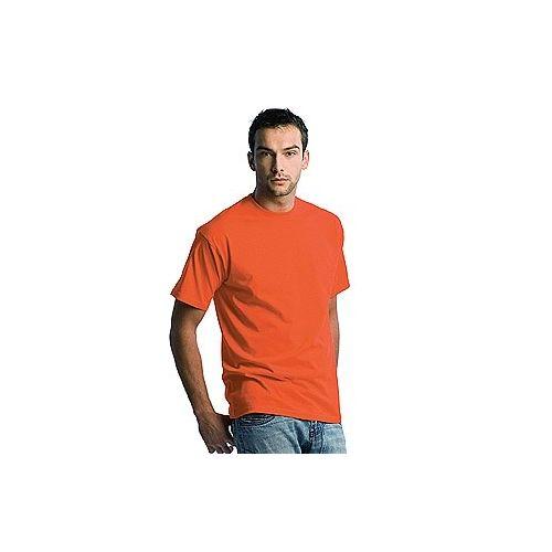 Wit T-shirt met korte mouwen van 185 gr/m2