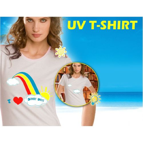 Verander uw t-shirt zonder u om te kleden!