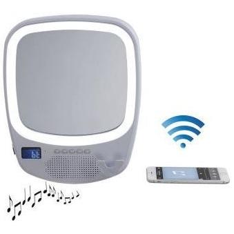 Badkamerspiegel compatibel met Bluetooth