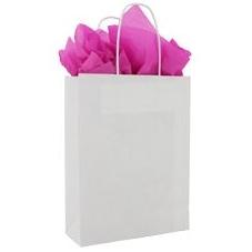 Papieren tas met koorden