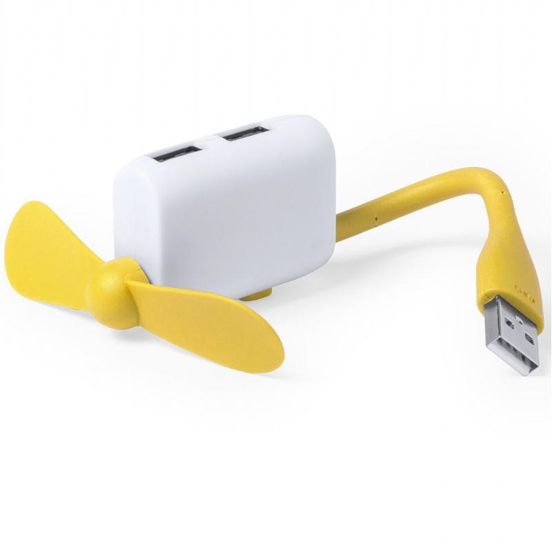 USB hub met ventilator