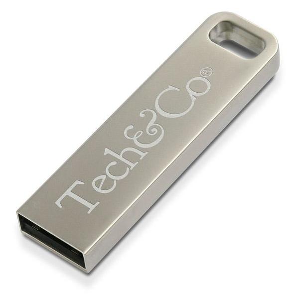 USB stick zonder cap, zonder zichtbare USB delen in metaal