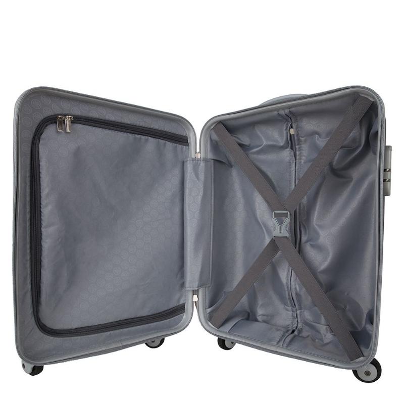 Koffer met doming sticker