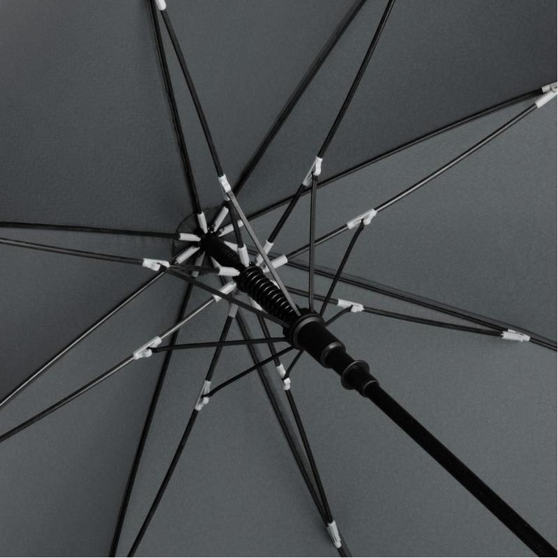 Paraplu met bandenprofiel accenten