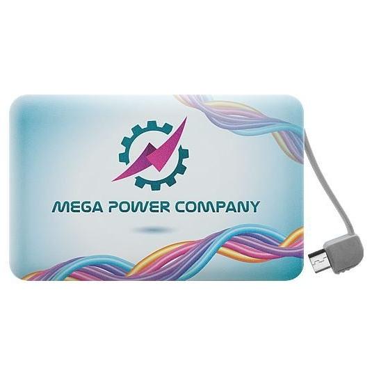 Powerbank in kredietkaart formaat