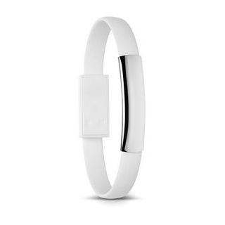 Armband met USB aansluitkabel