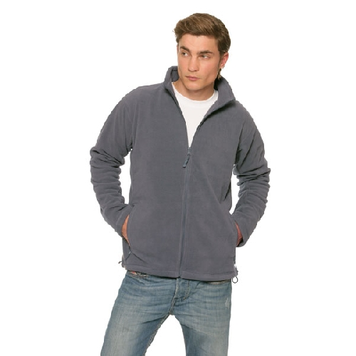 Heren outdoor fleece vest
