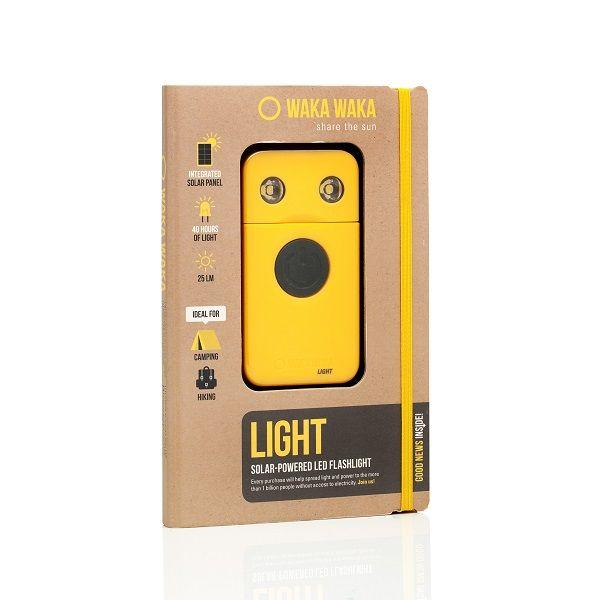 WakaWaka Light, meest efficiënte solar-led lamp ter wereld