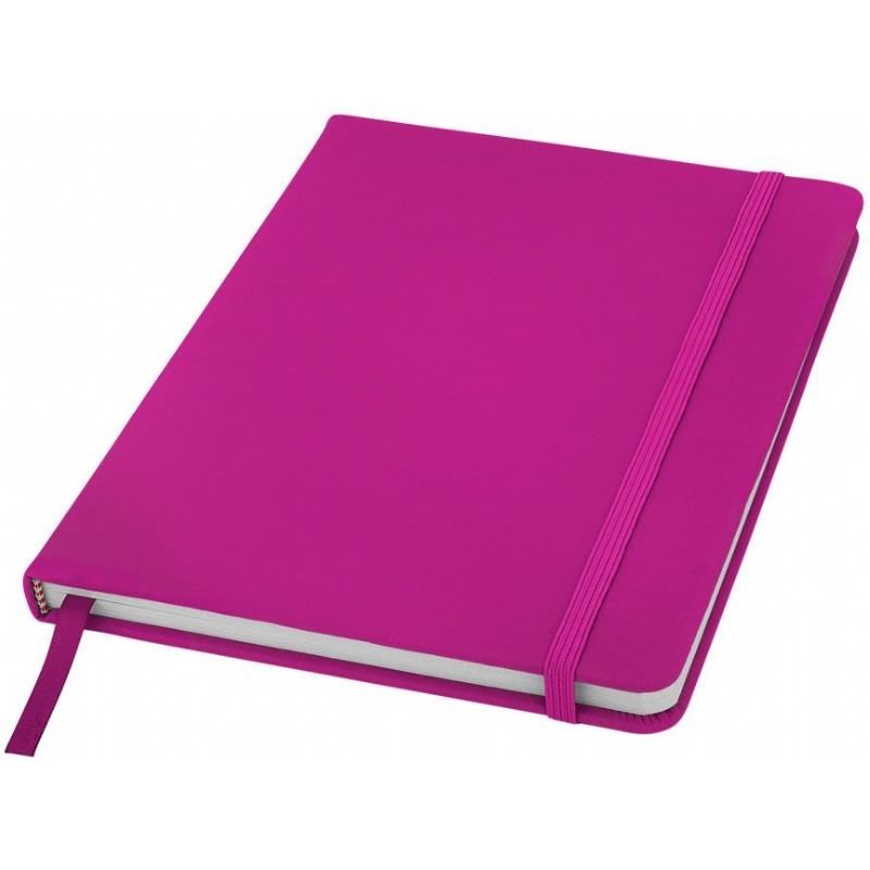 A5 notitieboekje met elastiek en paginalint