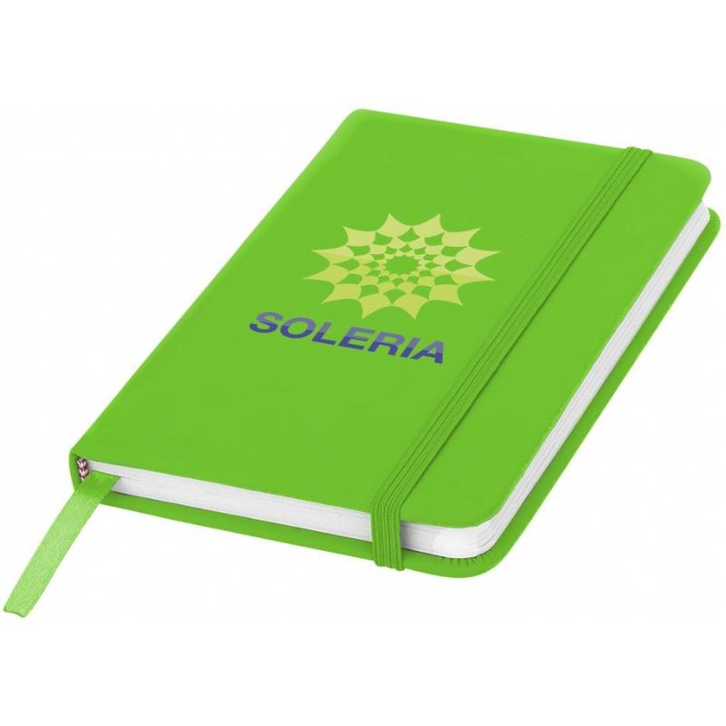 Handig A6 notitieboekje met leeslint en elastieksluiting