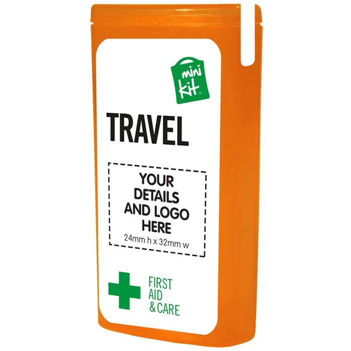 Set met reisbenodigdheden