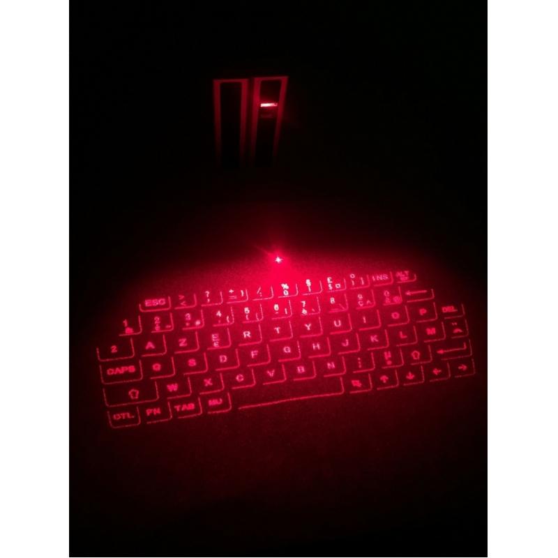 Laser keyboard voor mobiele telefoons en computers