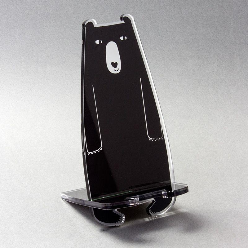 Kunststof GSM houder