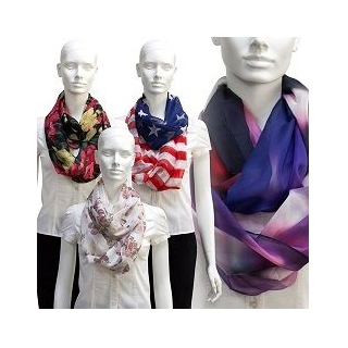 Oneindige sjaal met eigen design
