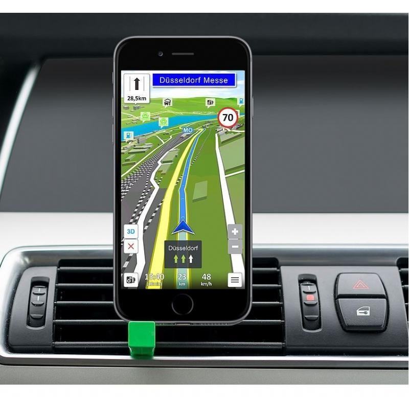 Handzame telefoonhouder voor in de auto