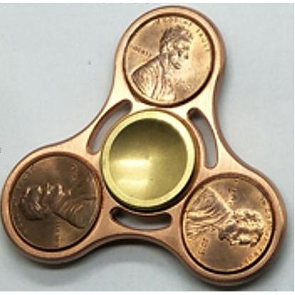 Gouden fidget spinner