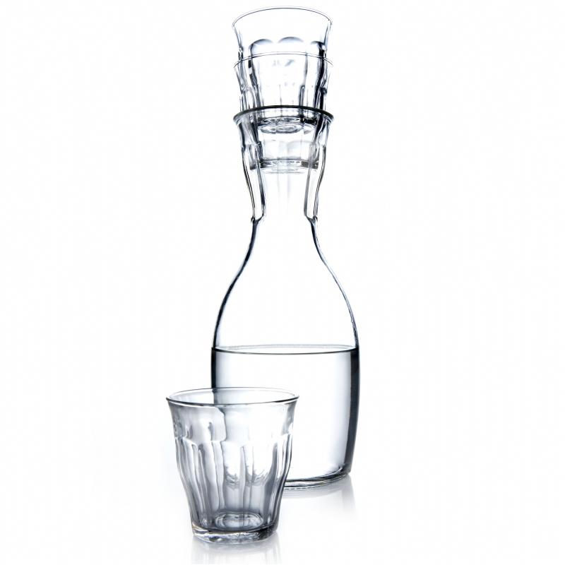 Karaf met 4 glazen