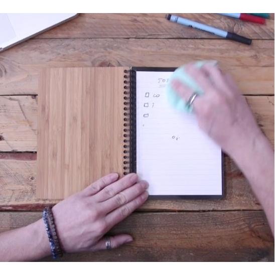 stop papierverspilling met dit schrift.