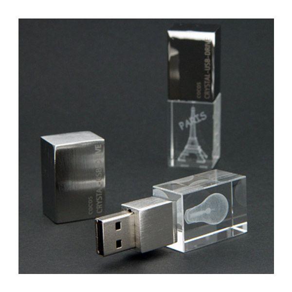 USB Stick Crystal 3D Drive