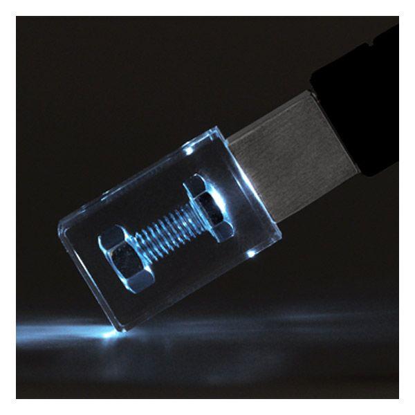 USB Stick Crystal Acrylic Drive