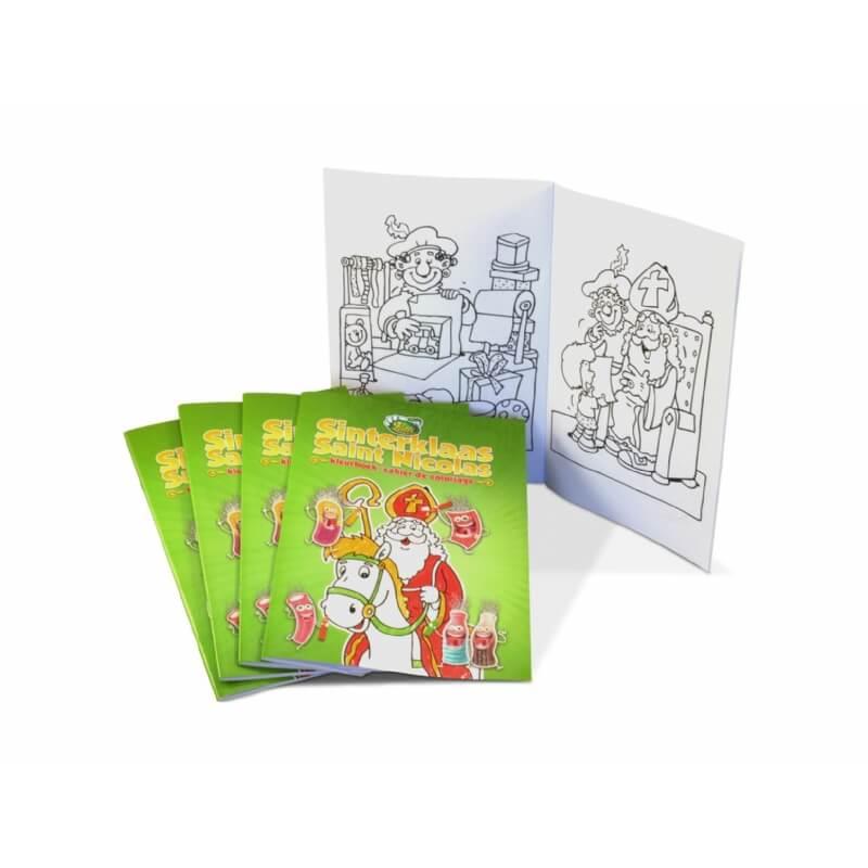 Kleurboek Sinterklaas