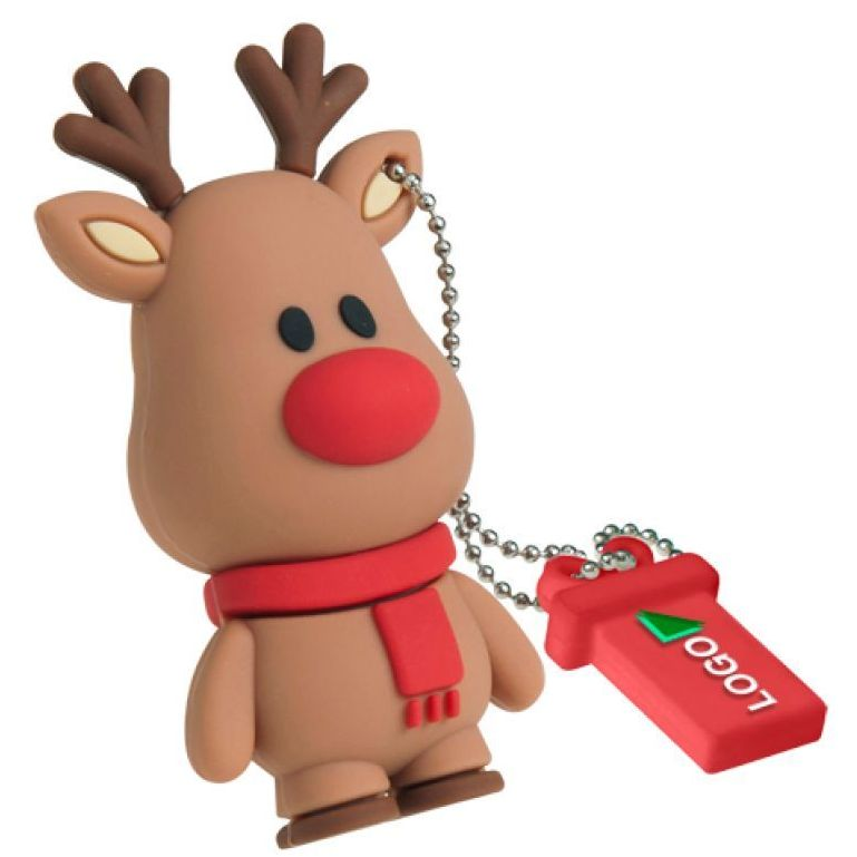 Kerstfiguren als usb stick