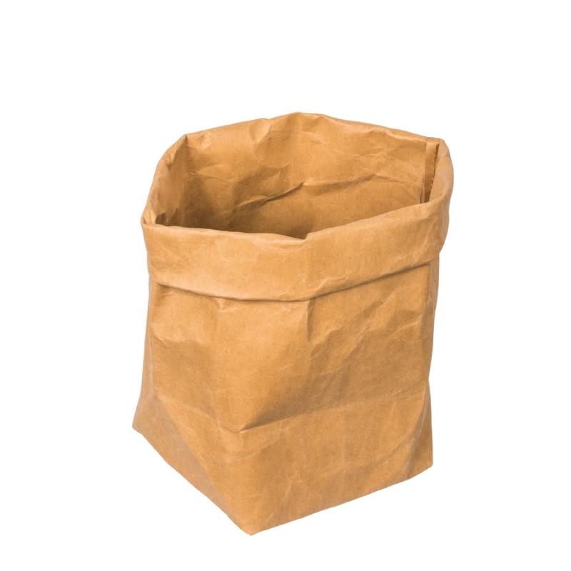 Decoratieve, afwasbare papieren zak