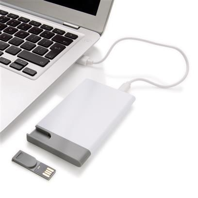 2500 mAh powerbank EN usb stick 8 GB