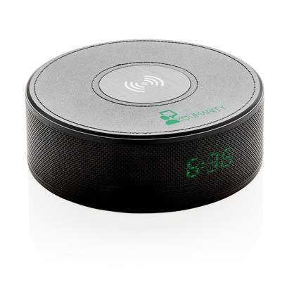 Draadloze 5W lader met alarmklok en speaker