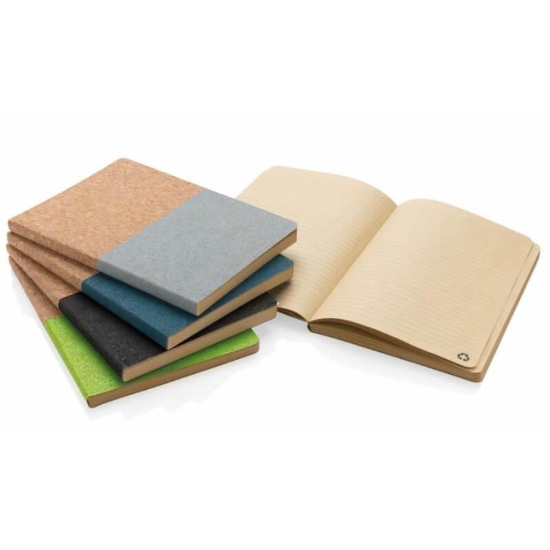 Eco notitieboekjes in kurk