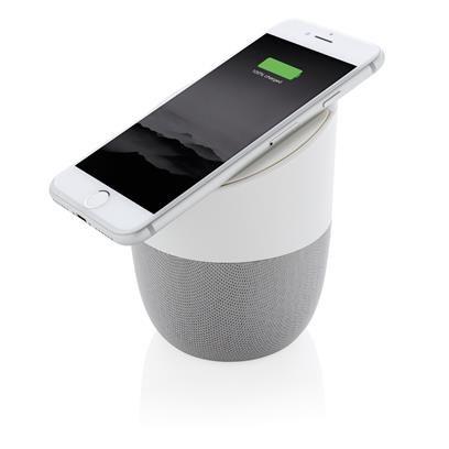 Home speaker en draadloze oplader