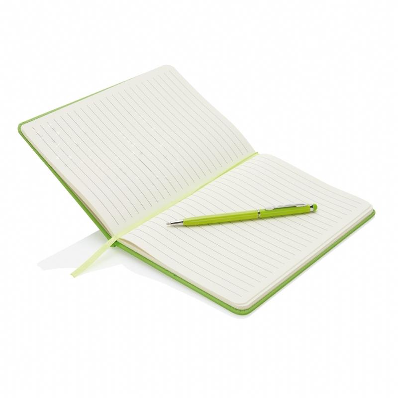 Luxueus A5 notitieboek met stylus