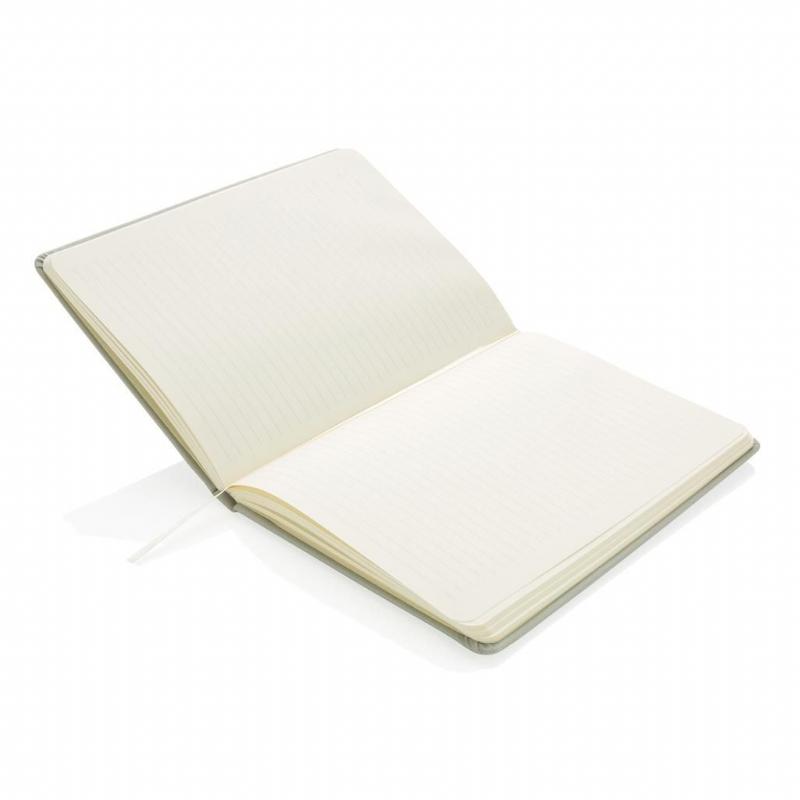 Luxueuze A5 notitieboek met geperforeerde cover