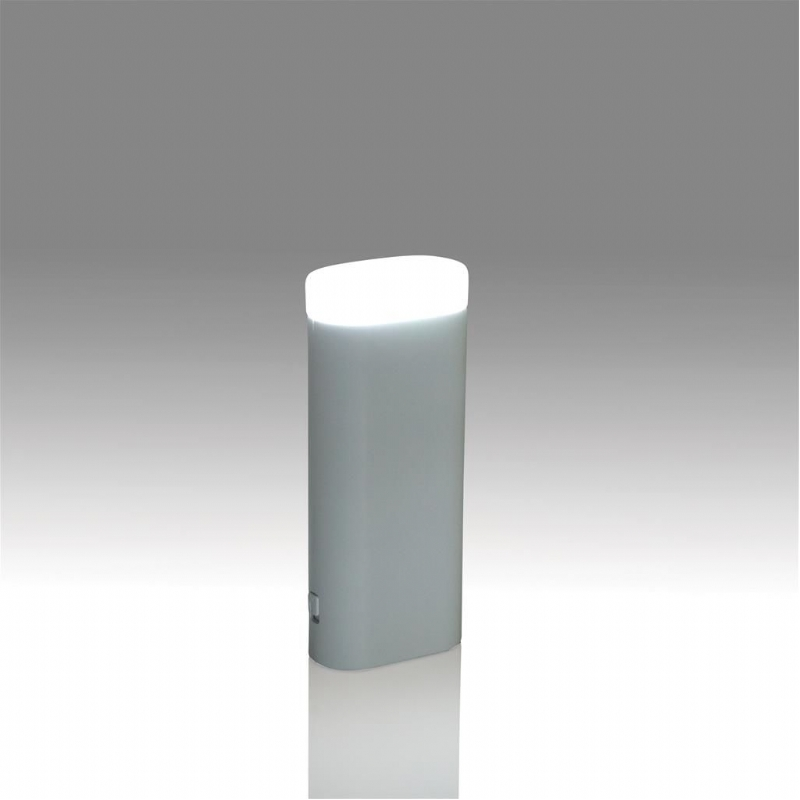 Noodbatterij en LED lamp in 1  - 5000 mAh lithium batterij