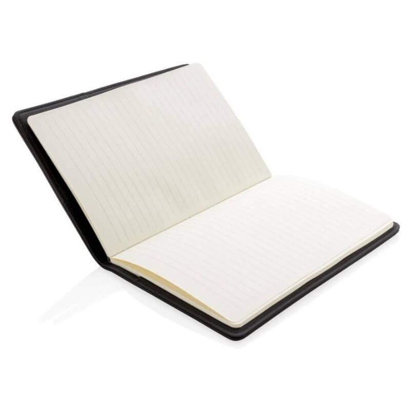 Notitieboekje met oplichtend logo