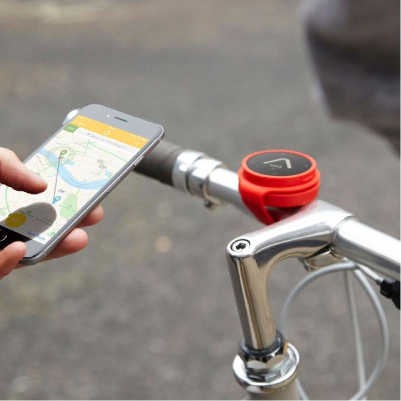 Handige navigator voor fiets