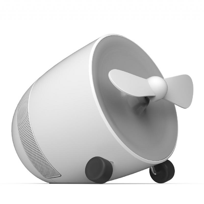 Luidspreker met ventilator