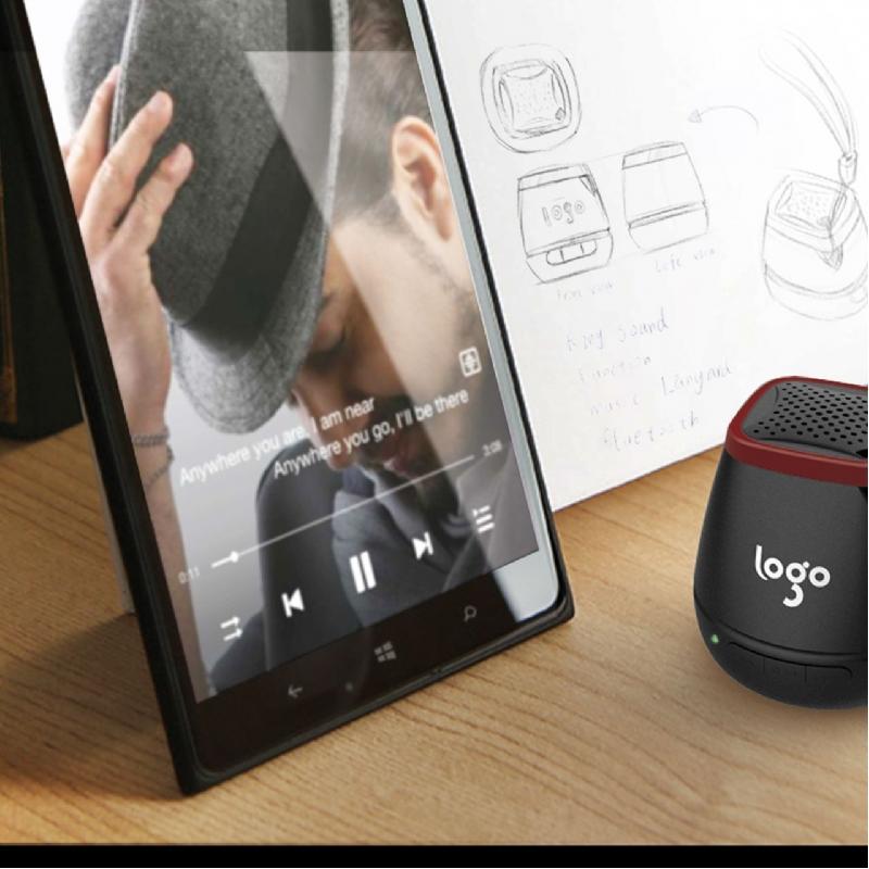 Mini Bluetooth speaker gekleurd