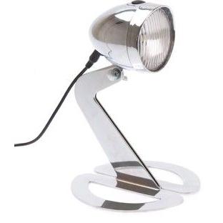 Bureaulamp in de vorm van een fietslicht