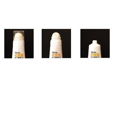 Lippenbalsem en zonnebrandcrème in 1 tube