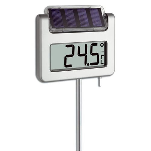 Digitale solar tuinthermometer