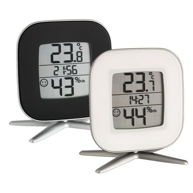 Digitale thermometer en hygrometer
