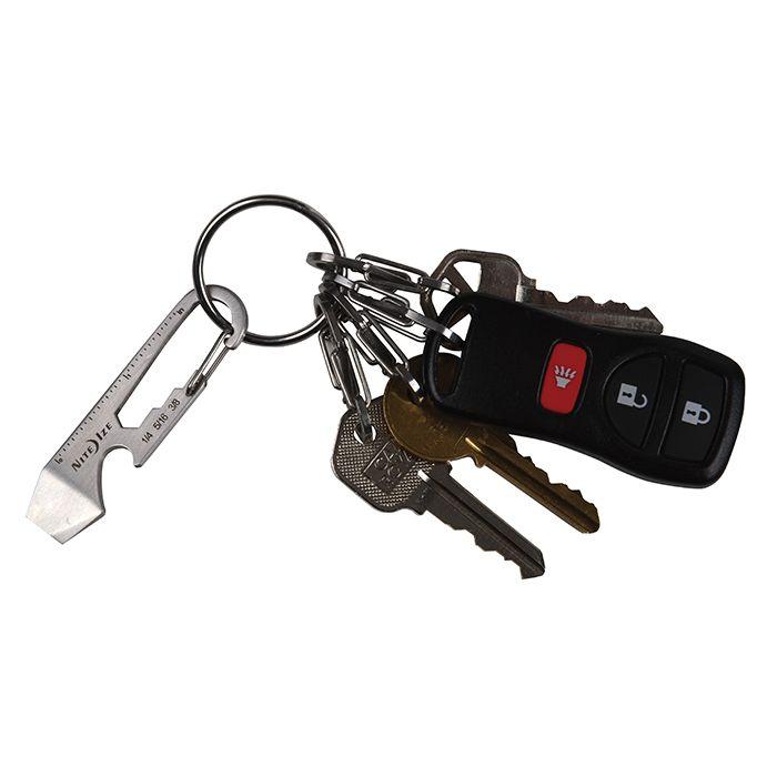 NiteIze multitool aan je sleutelbos.